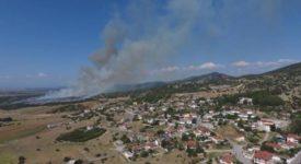 Υπό έλεγχο έχει τεθεί η πυρκαγιά που ξέσπασε μεταξύ των χωριών Πετρωτό και Μεσαίο στο δήμο Ωραιοκάστρου