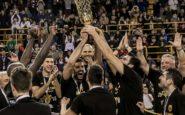 Η ΑΕΚ στέφθηκε Κυπελλούχος Ελλάδας στο μπάσκετ