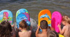 Το πρόγραμμα «Παιδί και Θάλασσα» πηγαίνει τους μικρούς του φίλους στη Χαλκιδική
