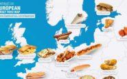 Τα street food της Ευρώπης [ΧΑΡΤΗΣ]