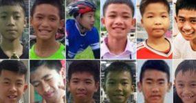 Ταϊλάνδη: Η ζωή νίκησε – Απεγκλωβίστηκαν τα 12 αγόρια και ο προπονητής