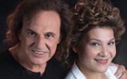 Ο Βασίλης Παπακωνσταντίνου και η Γιώτα Νέγκα στο Stage Live