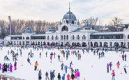 Βουδαπέστη: Πατινάζ, υπαίθριες αγορές και ιαματικά λουτρά