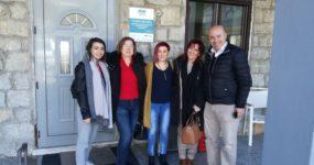 Ο Ανέστης Πολυχρονίδης επισκέφθηκε τον ξενώνα της ΑΡΣΙΣ