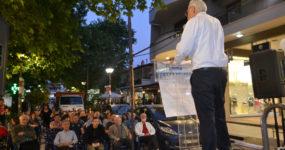 Προεκλογική συγκέντρωση του ΚΚΕ και της «Λαϊκής Συσπείρωσης» στο Ωραιόκαστρο (VIDEO-ΦΩΤΟ)