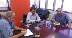 Με τον πρόεδρο του ΟΑΣΘ συναντήθηκε  ο δήμαρχος Ωραιοκάστρου