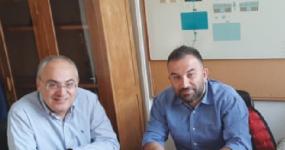 Δήμος Ωραιοκάστρου και περιφέρεια Κεντρικής Μακεδονίας  δίνουν τα χέρια για την προώθηση σειράς έργων