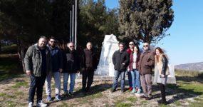 Στα τοπόσημα μνήμης του Α΄ Π.Π. ξεναγήθηκε η επιτροπή για την ανάδειξη της ιστορικότητας του δήμου Ωραιοκάστρου