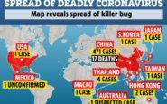 Παγκόσμιος συναγερμός για τον νέο κορονοϊό – Σε ποιες χώρες εμφανίζονται κρούσματα