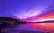 Δεν ξανάγινε τέτοιο ηλιοβασίλεμα στο Ναύπλιο – «Μαγεύει» το… παιχνίδι χρωμάτων (video)
