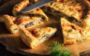 ΠΟΛΙΤΙΚΗ ΚΟΥΖΙΝΑ: Μανιταρόπιτα με κοτόπουλο και τυρί