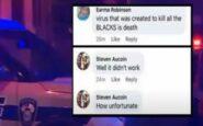 Δυστυχώς δεν πέθαναν περισσότεροι μαύροι από κορονοϊό. Ανάρτηση αστυνομικού της Λουιζιάνα
