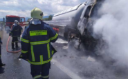 Τραγωδία στην Αθηνών – Θεσσαλονίκης: Νεκρός ο οδηγός βυτιοφόρου μετά από πυρκαγιά