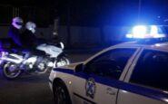 Στην αυλή σπιτιών στην Καλαμαριά της Θεσσαλονίκης κατέληξε όχημα διαρρηκτών μετά από καταδίωξη