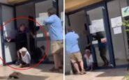 Υπάλληλος σεκιουριτι πέταξε με τις κλωτσιές ηλικιωμένο που ήθελε να εξυπηρετηθεί στη ΔΕΔΔΗΕ