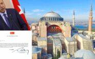 Τζαμί η Αγία Σοφία – Ο Ερντογάν υπέγραψε το διάταγμα