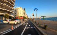 ΒΙΝΤΕΟ από τον νέο ποδηλατόδρομο στη Λεωφόρο Νίκης