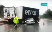 Δυστύχημα στο Δερβένι: Κατέληξε ο ένας από τους δύο τραυματίες [ΒΙΝΤΕΟ]