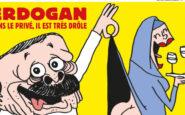 Το Charlie Hebdo βάζει φωτιά: Σατιρίζει τον Ερντογάν -Με εσώρουχα, παρατηρεί τα οπίσθια μιας μουσουλμάνας