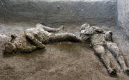 Πομπηία: Βρέθηκαν μαζί τα λείψανα πλούσιου και σκλάβου – Έψαχναν καταφύγιο όταν κάηκαν ζωντανοί