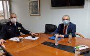 Συνάντηση με τον Γενικό Επιθεωρητή Αστυνομίας Βορείου Ελλάδος είχε ο Παντελής Σκαρλάτος