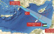 """""""Ανάβει φωτιές"""" στη Μεσόγειο η Τουρκία: Τα σχέδια για παράνομη ΑΟΖ με την Παλαιστίνη, με συνταγή Λιβύης"""
