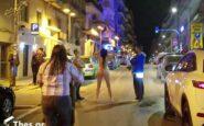 Θεσσαλονίκη: Γυναίκα έβγαλε τα ρούχα της και βγήκε σε κεντρικό δρόμο