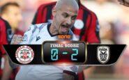 Λίνκολν – ΠΑΟΚ 0-2: Έκανε τη δουλειά με Άκπομ και Μιτρίτσα